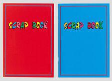 Scrapbook conjunto de dos libros de chatarra un 4+ + grueso papel de azúcar gris cubre 32 páginas