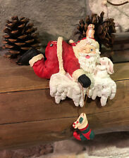 Santa Stocking Holder Hanger Friendly