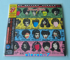 ROLLING STONES some girls Japon MINI LP CD Brand New & STILL SEALED + PROMO OBI