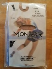 Mondor Child #3374 SUNTAN Stirrup Skating Tights With Velcro® Fasteners - SALE!