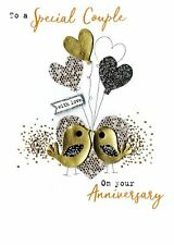 On Your Anniversary With Love Irresistible Greeting Card Embellished Cards