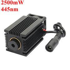 EleksMaker LA03-2500 445nm 2500mW Blue Laser Module with Heatsink Laser Engraver