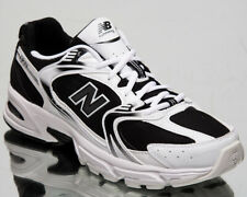 New Balance 530 Men's Black White Low Casual Athletic Lifestyle Sneakers Shoes