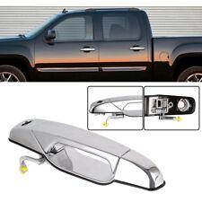 Chrome Exterior Door Handle for 2007-2014 Chevrolet GMC Front Left Driver Side