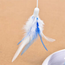 Electric Pet Rotating Multifuncition Funny Feather Cat Toys Teaser Accessoreis