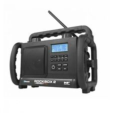 Baustellenradio Rock Box RB2 UKW DAB HANDWERKER-RADIO OUTDOOR BAURADIO