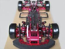 Alloy & Carbon SAKURA D3 CS 1/10 4WD Drift Racing Car Frame Kit w/Front one Way