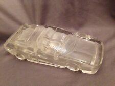 Hofbauer W. Germany Art Glass Crystal Frosted Car Paperweight Ferrari Testarossa