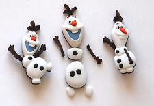 Disney's Frozen ~ OLAF ~  Buttons / Disney Licensed Jesse James Dress It Up