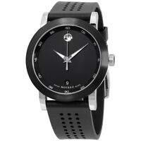 "Movado Men's 0606507 """"Museum"""" Stainless Steel Watch"