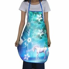 Unicorn Novelty BBQ Aprons Cooking Baking Kitchen Apron Gifts for Men or Women