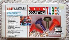 FAST WRAP MMF Industries Coin Counting Tubes Assorted Change Sorter Counter