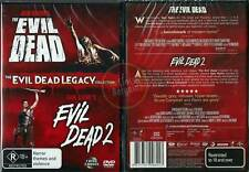 The Evil Dead / The Evil Dead 2 * NEW DVD * Legacy Collecion Sam Raimi REGION 4