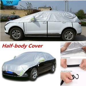 Universal Car SUV Half-body Cover For Outdoor Water Proof Rain Snow Sun Dust
