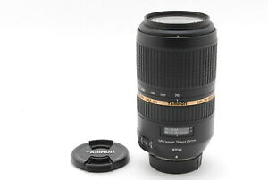 MINT Tamron SP 70-300mm f/4.0-5.6 Di VC USD Lens for Nikon AF, Caps from Japan