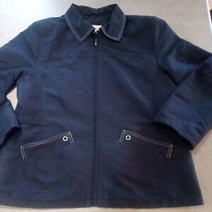 Navy Blue Jacket by Edinburgh woollen mill size 14
