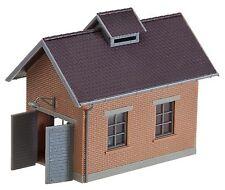 Faller 120139 H0, Kompressorhaus mit Rohrblasgerüst, Epoche II, Bausatz, Neu
