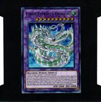 YuGiOh Cyber Eternity Dragon LED3-EN012 1st Edition Ultra Rare Near Mint