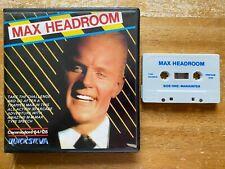 COMMODORE 64 (C64) - MAX HEADROOM (BY QUICKSILVA / QS) - LARGE CLAM