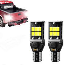2x 912 921 LED Backup Lights High Power T15 W16W Back Up Light Reverse Bulbs