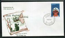 Australia 1966 Dirk Hartog - Unaddressed Fdc (green printing)