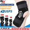 Aluminium Knee Twin Hinged Support Medical Grade Breathable Open Patella Brace