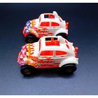 Hot Wheels 1983 Volkswagen Blazin Baja Bug White w/ Pink Bottom x2 RARE VTG