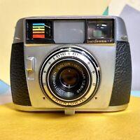 Balda Baldessa f 35mm Compact Camera W 2.8 45mm Lens! Clean Lens! Lomo Vintage