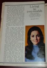 1971 TV ARTICLE~ROBIN STRASSER is DORIAN LORD on ONE LIFE TO LIVE SOAP OPERA