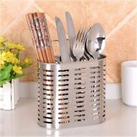 Hanging Stainless Steel Chopstick Tube Cutlery Spoons Quality Chopsticks Holder