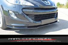 CUP Spoilerlippe CARBON für Peugeot RCZ Bj. 10-12 Front Diffusor Schwert