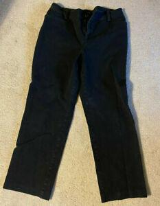 Ralph Lauren Womens Pants Size 6P Petite Black   Stretch
