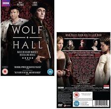 WOLF HALL (2015) Thomas Cromwell, King Henry VIII, TV MiniSeries  NEW  DVD UK