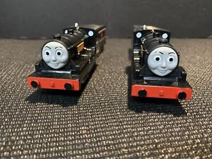 Thomas & Friends Trains Trackmaster Motorized Donald and Douglas *Read