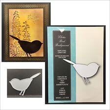 ELODEE BIRD BACKGROUND die - Memory Box metal cutting dies - 99444 bird,animals
