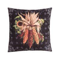 """Chalk Corn Dried Corn Ears Fall Autumn Indoor Outdoor 18"""" Toss Pillow"""