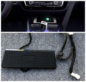 Console Storage box Wireless Charging charger For BMW X4 X3 F25 2011-2017 LHD