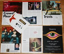 TRAVIS uk clippings photos magazine articles cuttings Fran Healy music