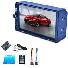 "7"" HD Touch Screen 2 Din Auto Car MP3 MP5 Radio Player Bluetooth GPS Navigator"