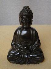 Chinese Handwork carving Buddha old jade statue