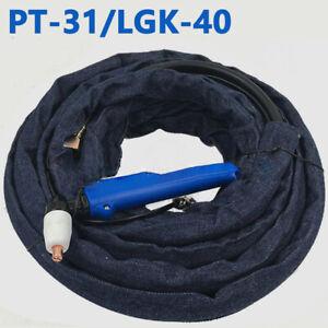 PT31 Plasma Cutter Torch Gun Elbow Head Body 3M 10Feet Fit CUT40/50 CT312