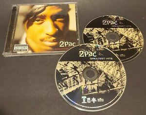 Greatest Hits by 2Pac (CD, 1998, 2 Discs) Explicit Version