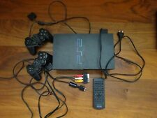 COMPLETE SONY PLAYSTATION 2 FAT MODEL SCPH39004 WORKING + 11 GAMES