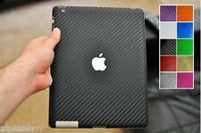 Full Coverage Carbon Skin Cover Sticker Decal Vinyl Wrap ALL Apple iPad Tablets