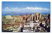 Postcard San Francisco from Top of the Mark, CA chrome C54
