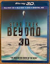 STAR TREK BEYON BLU RAY 1 DISC ONLY FREE WORLD WIDE SHIPPING BUY IT NOW ACTION