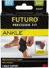 Genuine 3M Futuro Precision Fit Ankle Support Provides compression and support
