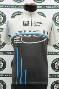 maglia ciclismo SANTINI TG L B297 bike shirt maillot trikot camiseta jersey
