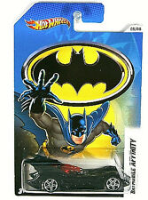 HOT WHEELS: 2012 BATMAN VEHICLES THEN AND NOW: BATMOBILE AFFINITY  #05/08 1:64