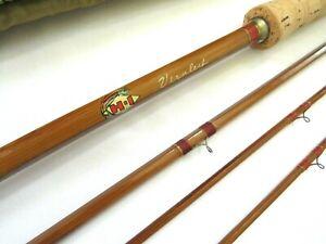Vintage Horrocks-Ibbotson Vernley Genuine Tonkin Bamboo Fly Rod w/ Original Bag